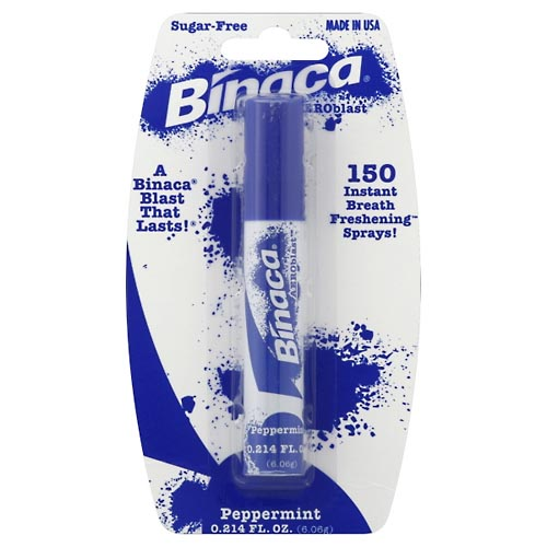 Image for Binaca Breath Spray, Peppermint 0.21 oz from Rices Pharmacy Beaver Dam