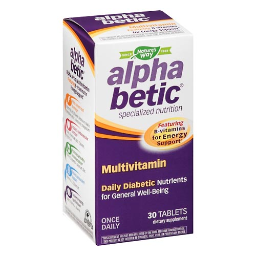 Image for Alpha Betic Multivitamin, Tablets 30 ea from Rices Pharmacy Beaver Dam