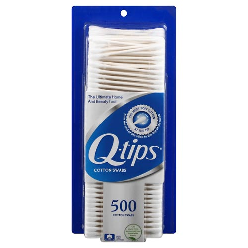 Image for Q Tips Cotton Swabs 500 ea from Rices Pharmacy Beaver Dam